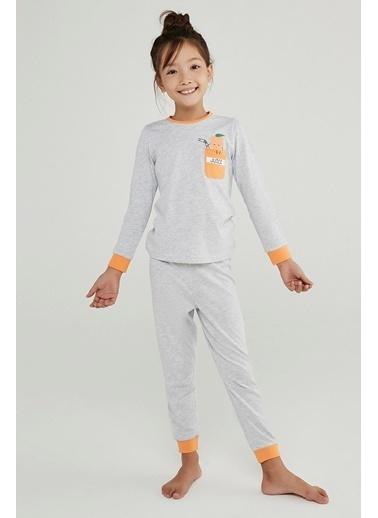 Penti Kız Çocuk Juice 4Lü Pijama Takımı Renkli